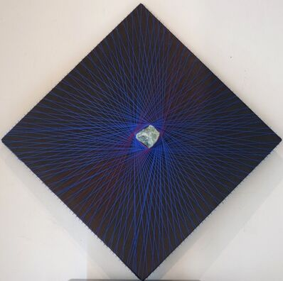 Milton Becerra, 'Romboidal Azul y Rojo', 2011