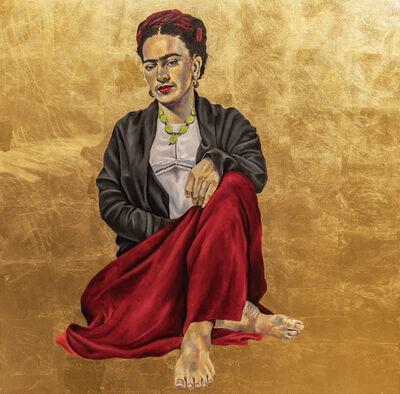 Robert Peterson (b.1981), 'Golden Frida (Frida Kahlo)', 2017