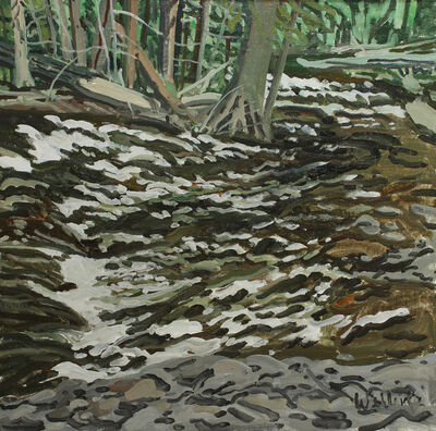Neil G. Welliver, 'Study for Pellitier Brook', 1994