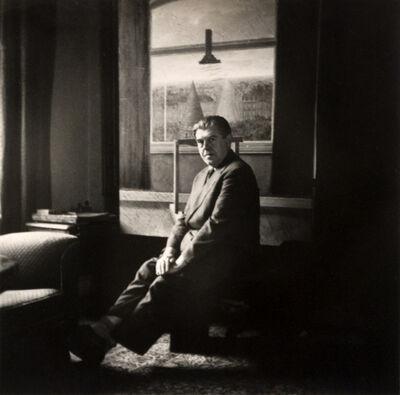 René Magritte, 'Self-Portrait in his studio', 1955