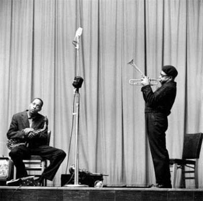 Herman Leonard, 'Stitt & Gillespie, NYC', 1953