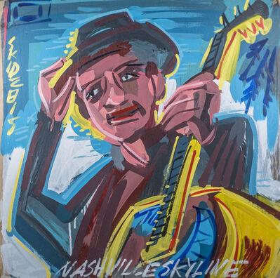 Steve Keene, 'Bob Dylan - Nashville Skyline', 2015