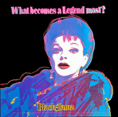 Andy Warhol, 'Blackglama (Judy Garland) (II.351)', 1985