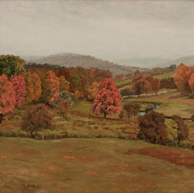 Ben Foster, 'Rainy Autumn Day', ca. 1914