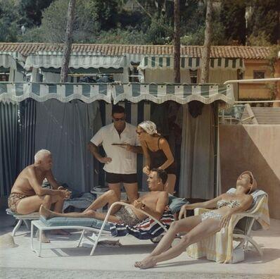 Slim Aarons, 'Summer in Monaco', 1957