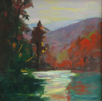 William Jameson, 'Davidson River Afternoon', 2018