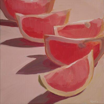 Yuri Tayshete, 'Lighted Lined Grapefruits', 2018
