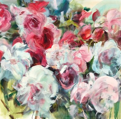 Jamie Evrard, 'Red Garden Study II', 2019