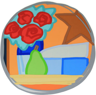 Tom Wesselmann, 'Still Life with Four Roses and Pear', 1968-1993