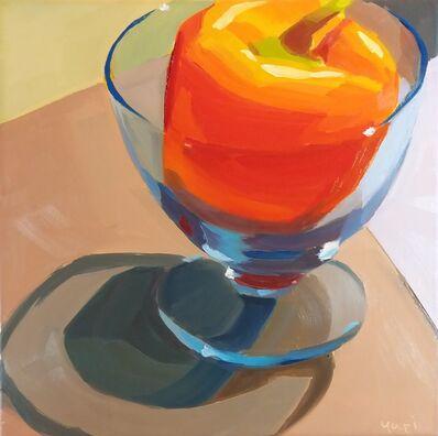 Yuri Tayshete, 'Orange Pepper in a Blue Glass', 2020