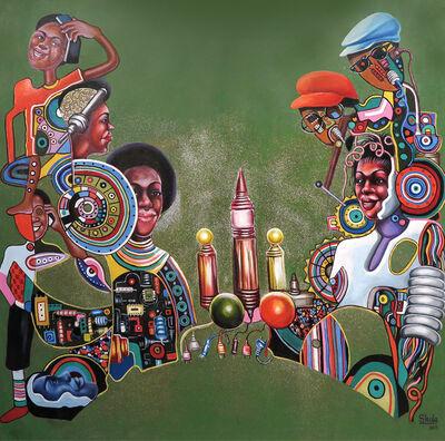 Monsengo Shula, 'Embryon du 21ème siècle ', 2015