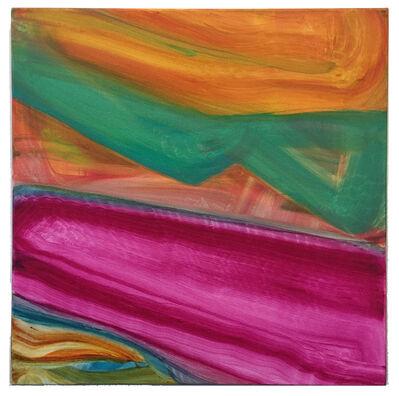Fran O'Neill, 'pink stripe', 2017