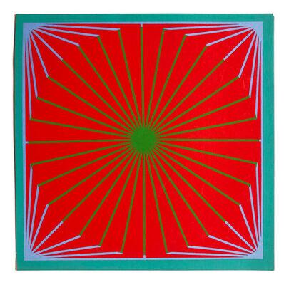 Richard Anuszkiewicz, 'Christmas Star for the MOMA', 1965