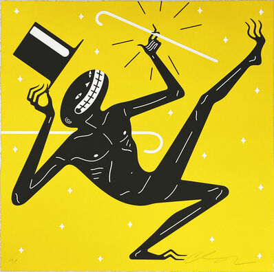 Cleon Peterson, ''Canceled' (yellow)', 2021