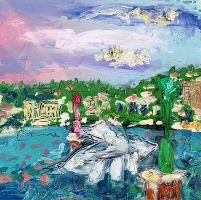 Norma de Saint Picman, 'Water paintings summer 2019 - plein air in situ paintings, Marina Portorose - Bateau - poisson', 2019