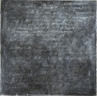 Howard Silberthau, 'Writings [Black] #4', 2016