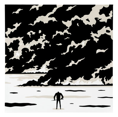 Cleon Peterson, 'Fire in the Sky', 2020