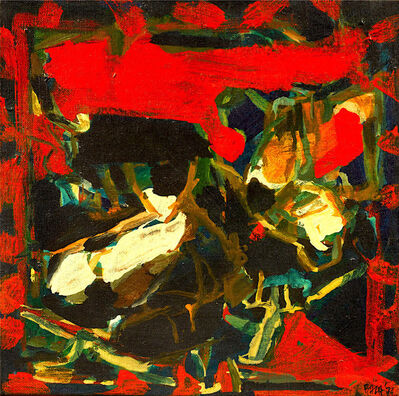 S. H. Raza, 'Composition', 1974