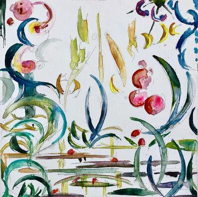 Kysa Johnson, 'blow up 391 - Crude (life) - phytoplankton after Monet', 2019