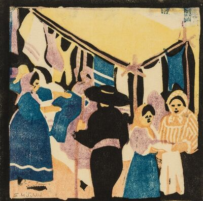 Enid Mitchell, 'At the fair', c.1930