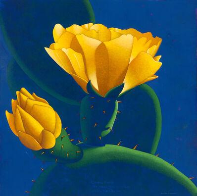 Ray-Mel Cornelius, 'Cactus Flower with Haiku', 2019