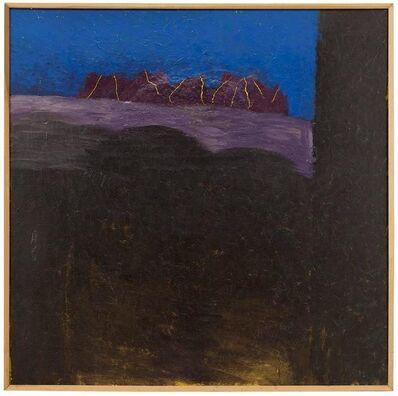 Larry Abramson, 'Large Israel Modernist Landscape Painting Bezalel Artist', 20th Century