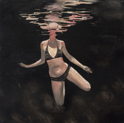 "Michael Carson, '""Night Swimming""', 2015"