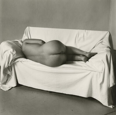 Peter Hujar, 'Reclining Nude on Couch', 1978