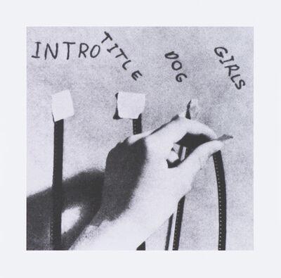 John Baldessari, 'How to Make a Film (Edit)', 1973/2011-12