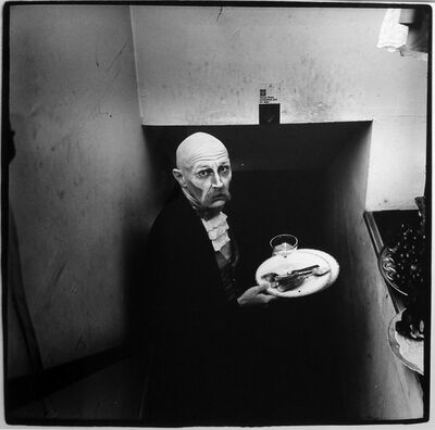 Peter Hujar, 'Sydney Chandler Faulkner as the Butler in Charles Ludlam's 'Camille' ', ca. 1970