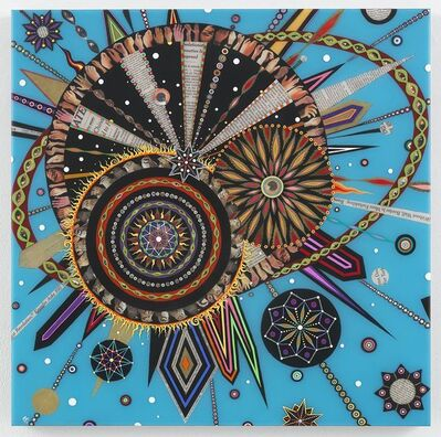Fred Tomaselli, 'Untitled', 2018