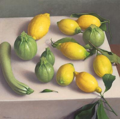 Amy Weiskopf, 'Zucchini and Lemons', 2019