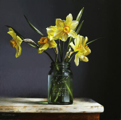 Larry Preston, 'Daffodils', 2019