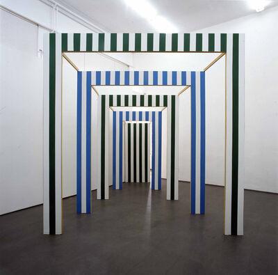 Daniel Buren, 'Le Carré Eclaté ', 1992
