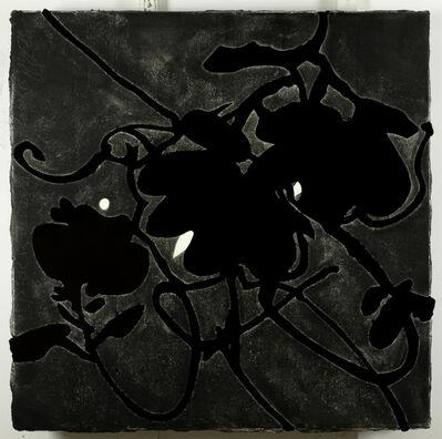 Donald Sultan, 'Black Lantern Flowers May 20, 2009', 2009