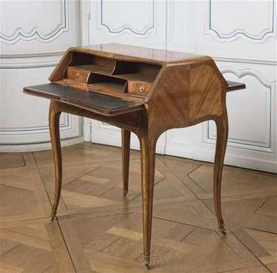Bon Durand, 'Bureau à deux pentes (Desk with two slopes)'