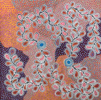 Brenda Punytjina Armstrong, 'Kaliny-kalinypa / Ultukunpa Jukurrpa (Honey Grevillea Dreaming)'