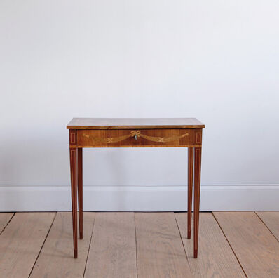 Unknown Artist, 'LATE 18TH CENTURY SWEDISH OCCASIONAL TABLE WITH FRUITWOOD INLAY', ca. 1900