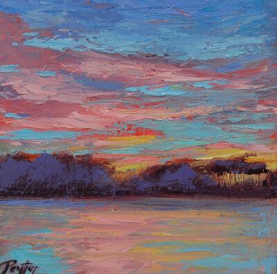 Peyton Hutchinson, 'Lake Sunset', 2019