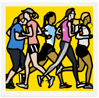 Julian Opie, 'Running women.', 2016