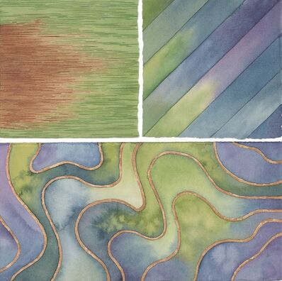 Elaine Bowers, 'Earth Quilt 2'