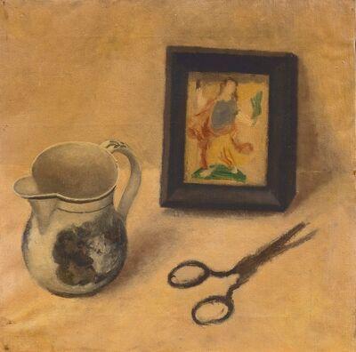 Guglielmo Janni, 'Natura morta con forbici'