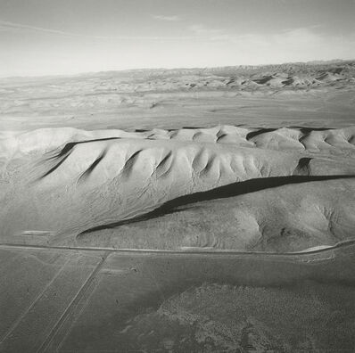 Emmet Gowin, 'Looking East from Yucca Lake Toward Plutonium Valley, Nevada Test Site', 1997