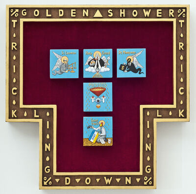 Aleksandar Todorovic, 'Golden Shower Trickling Down', 2018