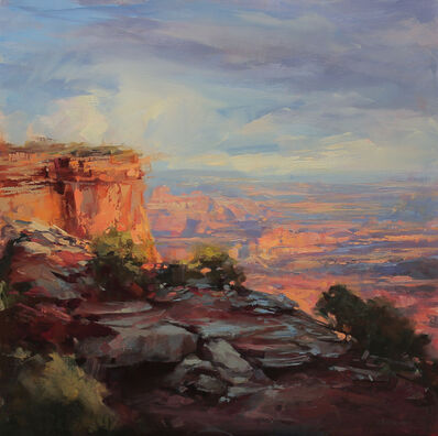 Lindsey Kustusch, 'Last Light over the Canyons', 2018