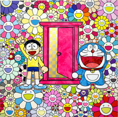Takashi Murakami, 'We Came to the Field of Flowers Through Anywhere Door (Dokodemo Door)!', 2018