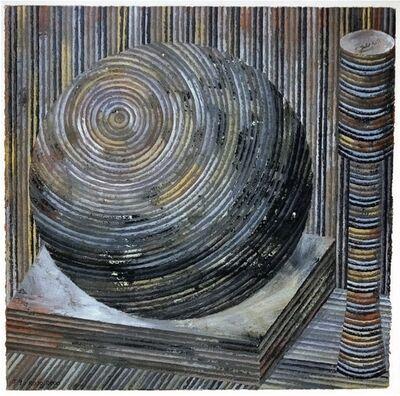 Vicente Rojo, 'Jardin secreto J9', 2000