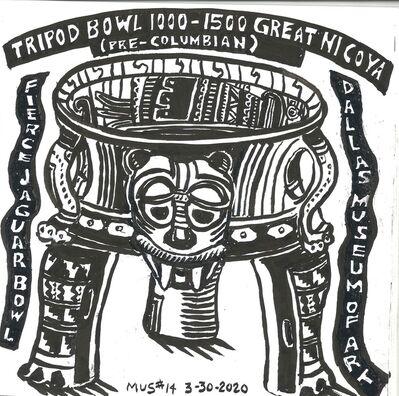 Susan Greenstein, 'Pre-Columbian Jaguar Tripod bowl', 2019