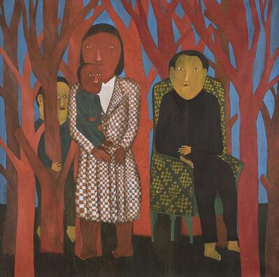 Salah Elmur, 'The Red Forest', 2016