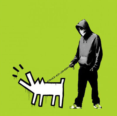 Banksy, 'Choose Your Weapon Green', 2010